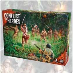pack Conflict of Heroes - Guadalcanal + extension US Army