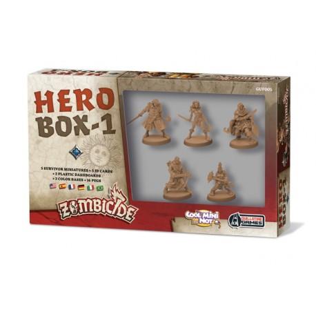 Zombicide Black Plague : Hero box 1
