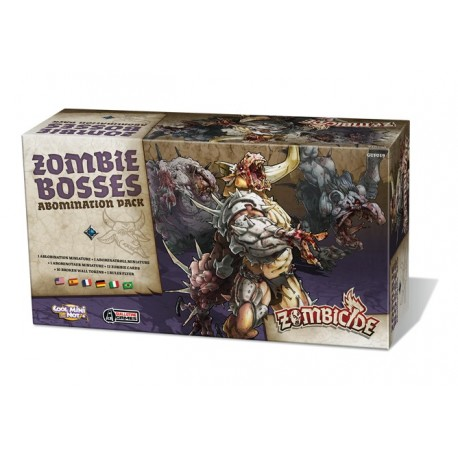 Zombicide Black Plague : Zombie Bosses - Abomination Pack