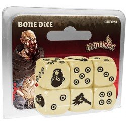 Zombicide Black Plague : dés en Os