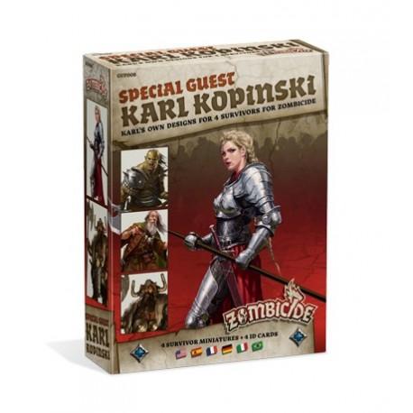Zombicide Black Plague : Special Guest: Karl Kopinski