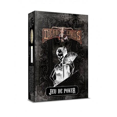 Deadlands - jeu de poker noir