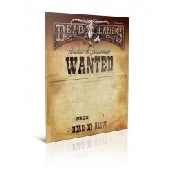 Deadlands - Dossier de Personnage
