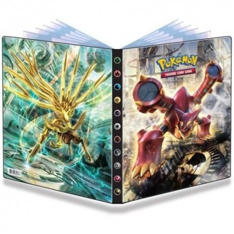 Cahier Range Cartes Pokémon A4 - XY11 Offensive vapeur