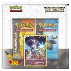 Duo Pack Collection Pokémon Fabuleux - Arceus