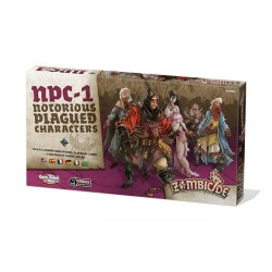 Zombicide Black Plague : Notorious Plagued Characters 1