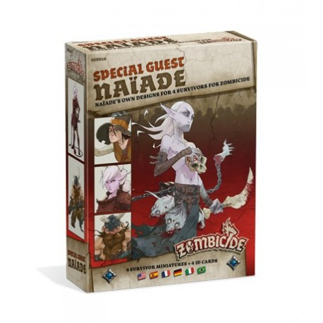Zombicide Black Plague : Special Guest: Naiade