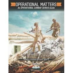Operational Matters : Sicily II