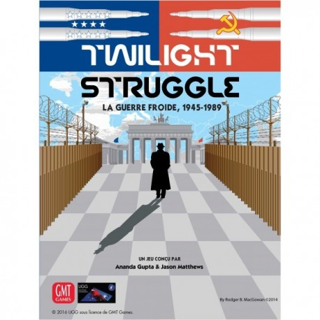 Twilight Struggle - french edition - 2nd edition