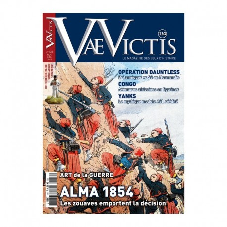 Vae Victis n°130 édition jeu : Alma 1854