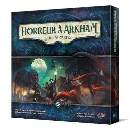 La Nuit de la Zélatrice Renouveau Horreur à Arkham LCG Fantasy Flight games