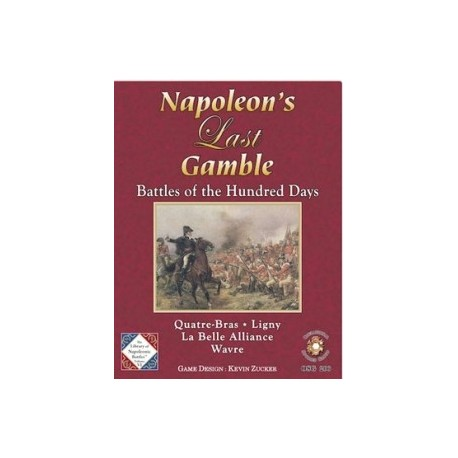 Napoleon's Last Gamble + expansion kit + Fleurus 1794