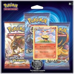 Tri Pack Pokémon XY12 Roussil
