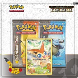 Duo Pack Collection Pokémon Fabuleux - Victini