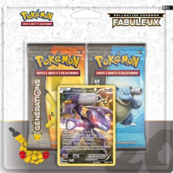 Duo Pack Collection Pokémon Fabuleux - Genesect