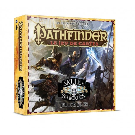 Pathfinder le jeu de cartes - Skull & Shackles - Jeu de base