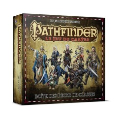 Pathfinder le jeu de cartes - Boîte de decks de classe