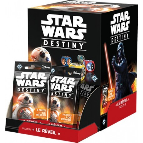 Star Wars Destiny - le réveil - Display
