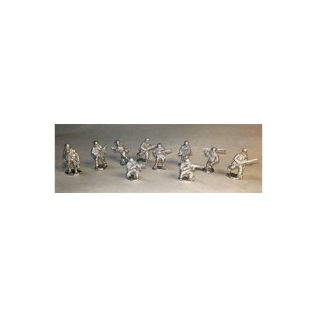 Warfighter WWII - Ger Metal Soldiers Mini