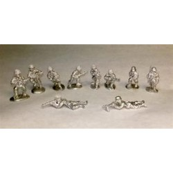 Warfighter WWII - USA Metal Soldiers Mini