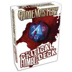 Game Mastery Accessories : Critical fumble Deck