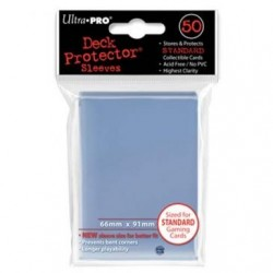 50 protèges cartes Deck Protector ULTRA PRO transparents