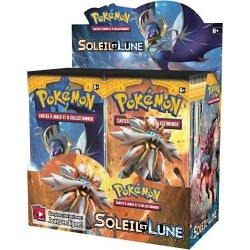 Pokémon Display de 36 Boosters Soleil et Lune
