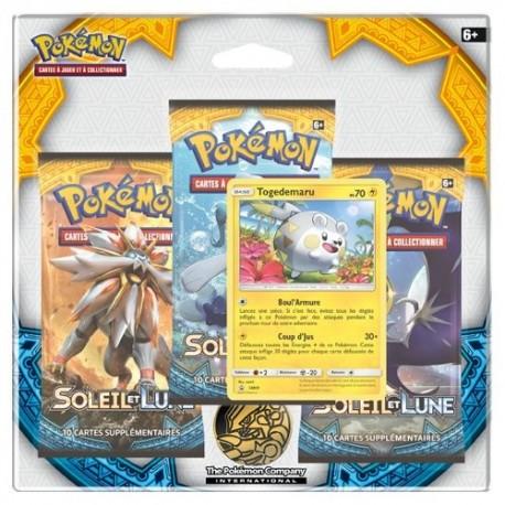 Tri Pack Pokémon Soleil et Lune