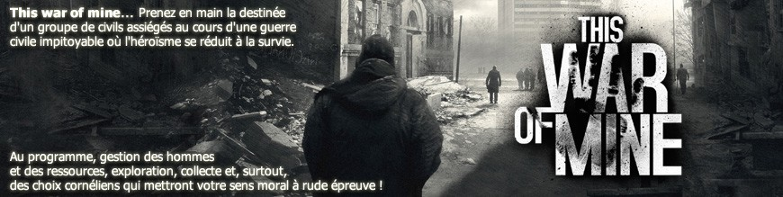 This War of Mine : le jeu de société en VF